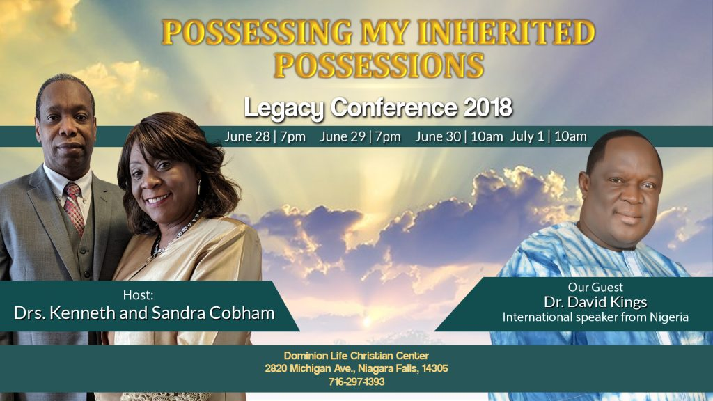 Legacy Conference 2018